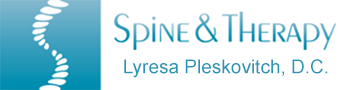 Spine and Therapy - Lyresa Pleskovitch, D.C.